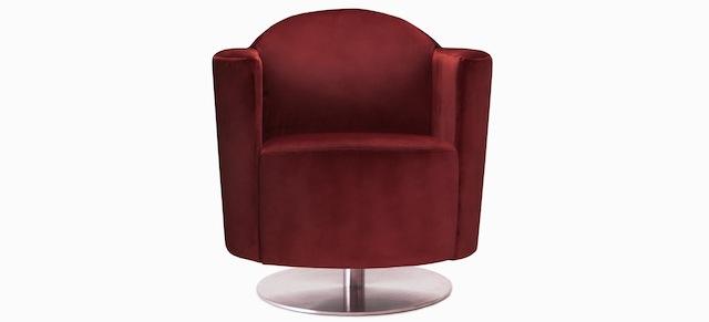 Jaymar_fauteuil_1956_velluto_vino_tinto